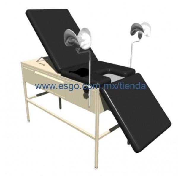 mesa para exploracion universal con pierneras de aluminio