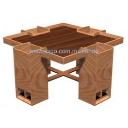 Mesa de Equilibrio 4 Plazas