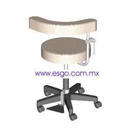 Banco Giratorio Neumático para Cirugía